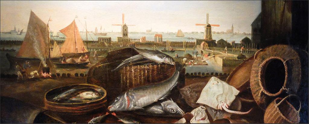 Vissersvlot in de Grashaven